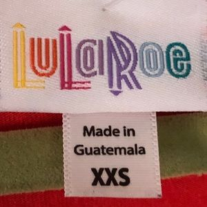 LuLaRoe Tops - Lula Roe Orange Irma sz XXS
